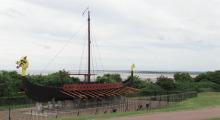 001-England-Wikingerboot