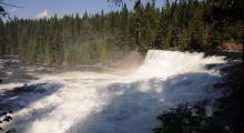 093-Kanada-Wells-Gray-Dawson-Falls-2