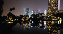 149-Singapur-Gardens-by-the-Bay-Nacht-3
